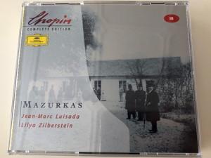 Chopin Complete Edition – Vol III / Mazurkas - Jean-Marc Luisada, Lilya Zilberstein / Deutsche Grammophon 2x Audio CD Stereo / 463 054-2