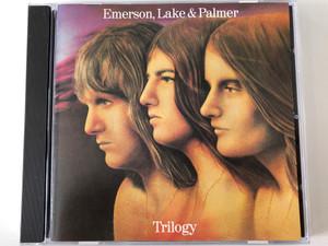 Emerson, Lake & Palmer – Trilogy / Manticore Audio CD Stereo / 258 173-222