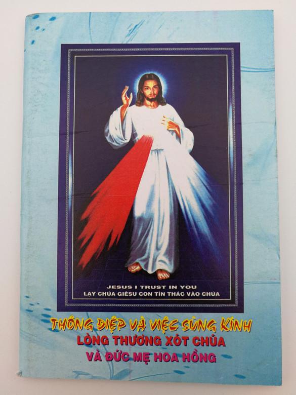 Jesus I trust in you / Thóng điep vá viec súng kính / Vietnamese Catholic prayerbook / Paperback (VietCatholicPrayerBook2)