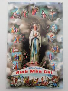 Kinh Mân Côi / Vietnamese Catholic Rosary book - prayerbook / Paperback (VietRosary)