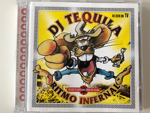 DJ Tequila ‎– Ritmo Infernal / The Best of Latin Dance Music on 135bpm / Ultrapop ‎Audio CD 1997 / 0099152ULT