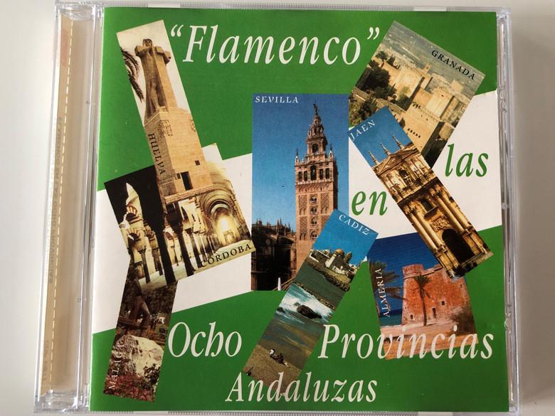 ''Flamenco'' En Las Ocho Provincias - Andaluzas / PaSarela Audio CD / CDP 1/611