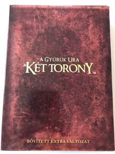 The Lord of the Rings - The Two Towers 4 DVD A gyűrűk ura - A két torony / Directed by Peter Jackson / Starring: Elijah Wood, Ian McKellen, Liv Tyler, Viggo Mortensen, Cate Blanchett / 4 Disc Hungarian Special Edition (5999048905505)