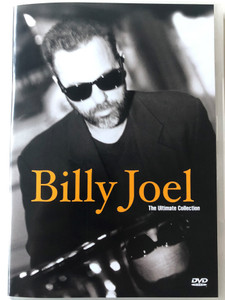 Billy Joel - The Ultimate Collection DVD 2001 / Piano man, Honesty, Uptown Girl, A Matter of trust, Leningrad / With Bonus Videos / Columbia - SMV / MVX 2015129 (5099720151296)