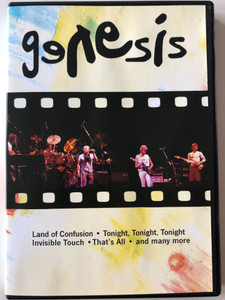 Genesis Wembley Stadium DVD July 1987 / Land of Confusion, Tonight, tonight, tonight, Invisible Touch / Includes Tour Documentary, Photo Gallery, Tour Programme (4013659003168)