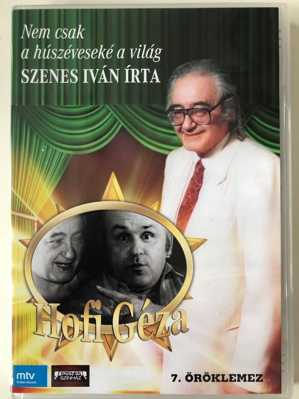 Nem csak a húszéveseké a világ DVD 7. Öröklemez / Directed by Kalmár Tibor / Írta Szenes Iván / Starring: Szenes Iván, Hofi Géza / Hungarian Veteran Performers (5999546019650)