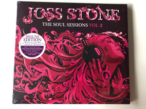 Joss Stone ‎– The Soul Sessions Vol 2 / Deluxe Edition / S-Curve Records ‎Audio CD 2012 / 5053105347957