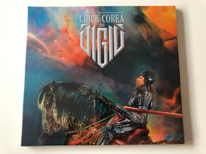Chick Corea ‎– The Vigil / Concord Jazz ‎Audio CD 2013 / 0888072345782