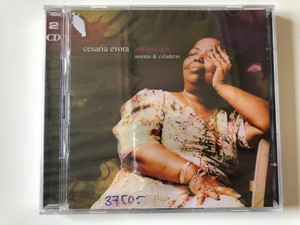 Cesaria Evora ‎– Anthologie - Mornas & Coladeras / Lusafrica ‎2x Audio CD 2002 / 74321 940842