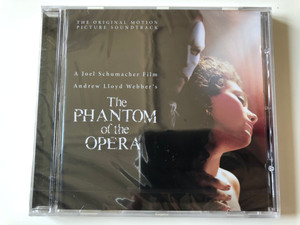 The Original Motion Picture Soundtrack / A Joel Schumacher Film, Andrew Lloyd Webber's ‎– The Phantom Of The Opera / Sony Music Soundtrax ‎Audio CD 2004 / SK 93521