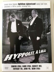 Hyppolit the Butler (1931) DVD Hyppolit, a Lakáj / Directed by István Székely / Starring: Kabos Gyula, Csortos Gyula, Jávor Pál, Fenyvessy Éva (5999544252813)