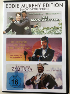 3-Movie-Collection / Eddie Murphy Edition DVD Trading Places - The Golden Child - Coming to America / Directed by John Landis, Michael Ritchie / 3 DVD - 3 movies (4010884558937)