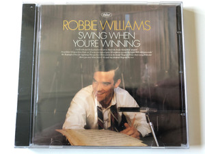 Robbie Williams ‎– Swing When You're Winning / I Will Talk And Hollywood Will Listen, Mack The Knife, Somethin' Stupid, Do Nothin' Till You Hear From Me, It Was A Very Good Year, Straighten Up And Fly Right / Chrysalis Audio CD 2001 / 724353682620