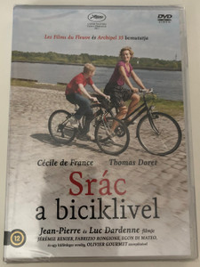Le gamin au vélo DVD 2011 Srác a biciklivel - The Kid with a Bike / Directed by Jean-Pierre Dardenne, Luc Dardenne / Starring: Thomas Doret, Cécile de France (5999542819407)