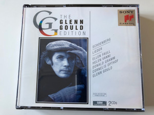 The Glenn Gould Edition / Schoenberg: Lieder - Ellen Faull, Helen Vanni, Donald Gramm, Cornelius Opthof, Glenn Gould / Sony Classical 2x Audio CD 1995 / SM2K 52667