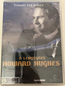 The Amazing Howard Hughes DVD 1977 A lenyűgöző Howard Hughes / Directed by William A. Graham / Starring: Tommy Lee Jones, Ed Flanders, Tovah Feldshuh, Lee Purcell (5999554700540)