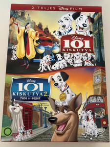 101 Dalmatians & 101 Dalmatians 2 DVD SET 101 Kiskutya & 101 Kiskutya 2. Paca és agyar / Directed by Wolfgang Reitherman, Hamilton Luske, Clyde Geronimi, Jim Kammerud, Brian Smith / Patch's London Adventure, Paca és Agyar (5996255737820)
