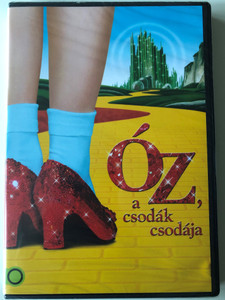 The Wizard of Oz DVD 1939 Óz a csodák csodája / Directed by Victor Fleming, King Vidor / Starring: Judy Garland, Frank Morgan, Ray Bolger, Bert Lahr, Jack Haley, Billie Burke (5948211008826)