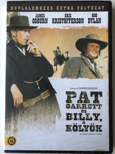 Pat Garrett and Billy the Kid 2 DVD 1973 Pat Garrett és Billy a kölyök / Directed by Sam Peckinpah / Starring: James Coburn, Kris Kristofferson, Bob Dylan / Duplalemezes Extra változat (5996514012033)
