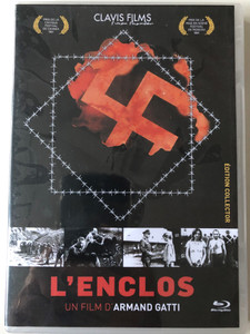 L'enclos (Enclosure) BluRay Disc 1961 / Directed by Armand Gatti / Starring: Hans Christian Blech, Jean Négroni / Black & White / Collector's edition (3700246907961)