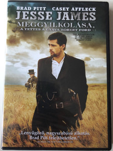 The Assassination of Jesse James by the Coward Robert Ford DVD 2007 Jesse James meggyilkolása, a tettes a gyáva Robert Ford / Directed by Andrew Dominik / Starring: Brad Pitt, Casey Affleck, Sam Shepard, Mary-Louise Parker (5996514001839)