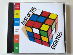 Best Of The Eighties / Sister Sledge, Rose Royce, George McCrae, Tams, Edwin Starr & many more / Fox Music Consolidated Ltd. Audio CD Stereo / FU 1083