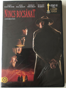 Unforgiven DVD 1992 Nincs bocsánat / Directed by Clint Eastwood / Starring: Clint Eastwood, Gene Hackman, Morgan Freeman, Richard Harris (5996514004649)