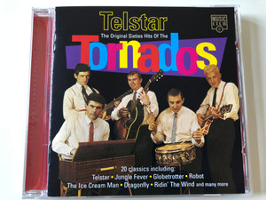 Telstar - The Original Sixties Hits Of The Tornados / 20 classics including: Telstar, Jungle Fever, Globetrotter, Robot, The Ice Cream Man, Dragonfly, Ridin' The Wind and many more / Music Club Audio CD 1994 / MCCD 161