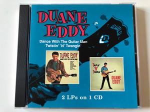 Duane Eddy – Dance With The Guitar Man, Twistin' 'N' Twangin' / 2 LPs on 1 CD / One Way Records Audio CD 1998 / OW 34542