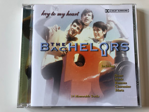 Key To My Heart - The Bachelors / Including: Diane, Marie, Ramona, Charmaine, Marta / 14 Memorable Tracks / Going For A Song Audio CD / GFS131