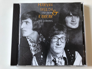 Marvin, Welch & Farrar ‎– Step From The Shadows / See For Miles Records Ltd. ‎Audio CD 1989 / SEE CD 78