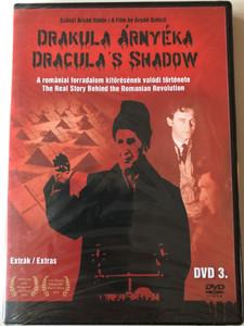 Drakula Árnyéka 3. Extrák DVD 2009 The Shadow of Dracula Disk 3 EXTRAS - Documentary / A romániai forradalom kitörésének valódi története / Directed by Szőczi Árpád / The Real Story Behind the Romanian Revolution (DrakulaArnyeka3)