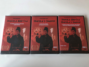 Drakula Árnyéka DVD SET 2009 The Shadow of Dracula 3 DVD - Documentary / A romániai forradalom kitörésének valódi története / Directed by Szőczi Árpád / The Real Story Behind the Romanian Revolution (DrakulaArnyekaSET)