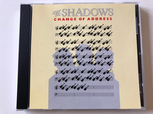 The Shadows ‎– Change Of Address / Polydor ‎Audio CD 1992 / 813 574-2