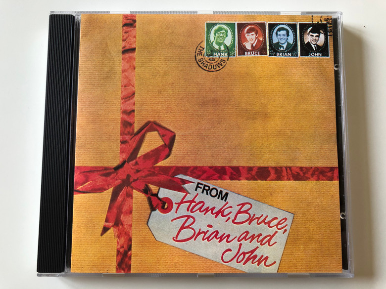 The Shadows – From Hank, Brian, Bruce & John / BGO Records Audio CD 1990 / BGOCD20