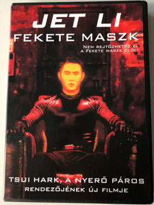 Black Mask DVD 1996 Fekete Maszk (黑俠) / Directed by Daniel Lee / Starring: Jet Li, Lau Ching-wan, Karen Mok, Françoise Yip / DVD10 double sided disc (5999881066432)