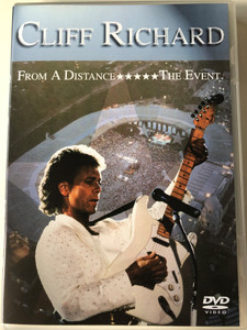 Cliff Richard - From a Distance DVD The Event / Filmed live at Wembley Stadium, June 1989 / EMI Records EDV 140 (724354463495)