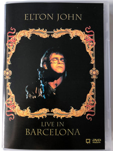 Elton John DVD 1992 Live in Barcelona / Don't let the Sun go down on me, I'm Still Standing, The Last Song, Sacrifice / Bonus 52 min documentary (745099068028)
