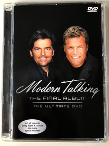 Modern Talking - The final Album - The Ultimate DVD 2003 / Includes all videos in Dolby 5.1 sound plus many special features! (828765829090)