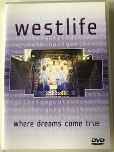 Westlife - Where dreams come true DVD+CD 2001 BMG Entertainment / Somebody needs you, You make me feel, My Girl, Fool again, Uptown girl (743218563591)