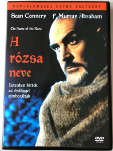 The name of the Rose (A rózsa neve) 2 DVD 1986 / Directed by Jean-Jacques Annaud / Starring: Sean Connery, F. Murray Abraham, Feodor Chaliapin Jr. / Based on Umberto Eco's novel (5999010453461)