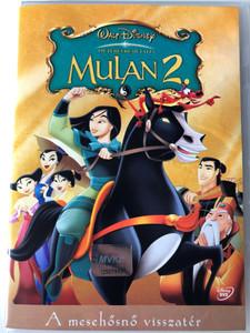 Mulan 2 DVD 2004 Mulan 2 - a mesehősnő visszatér / Directed by Darrell Rooney, Lynne Southerland / Starring: Mark Moseley, Ming-Na Wen, BD Wong, Lucy Liu, Harvey Fierstein (5996255714258)