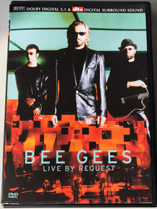 Bee Gees - Live by Request DVD 2001 / Directed by Lawrence Jordan / She keeps on coming, Man in the Middle, How can you mend a broken heart, Lonely Days / MMI Image Entertainment (8713053002502)