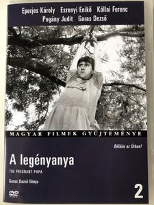 A legényanya DVD 1990 The Pregnant Papa / Directed by Garas Dezső / Starring: Eperjes Károly, Eszenyi Enikő Pogány Judit / Magyar Filmek Gyűjteménye 2 (5999546331066)