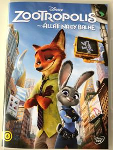Zootopia DVD 2016 Zootropolis - Állati nagy balhé / Directed by / Starring: Ginnifer Goodwin, Jason Bateman, Idris Elba, Jenny Slate (5996514024067)