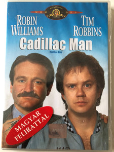 Cadillac Man DVD 1990 / Directed by Roger Donaldson / Starring: Robin Williams, Tim Robbins, Pamela Reed (5996255711158)