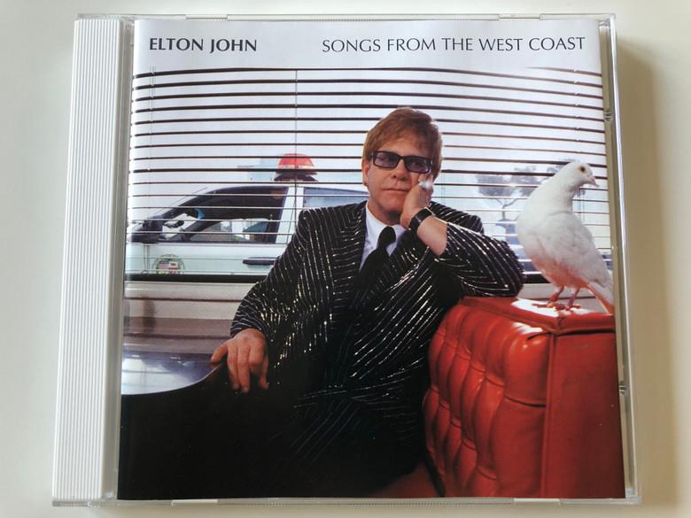 Elton John – Songs From The West Coast / Mercury Audio CD 2001 / 586 459-2