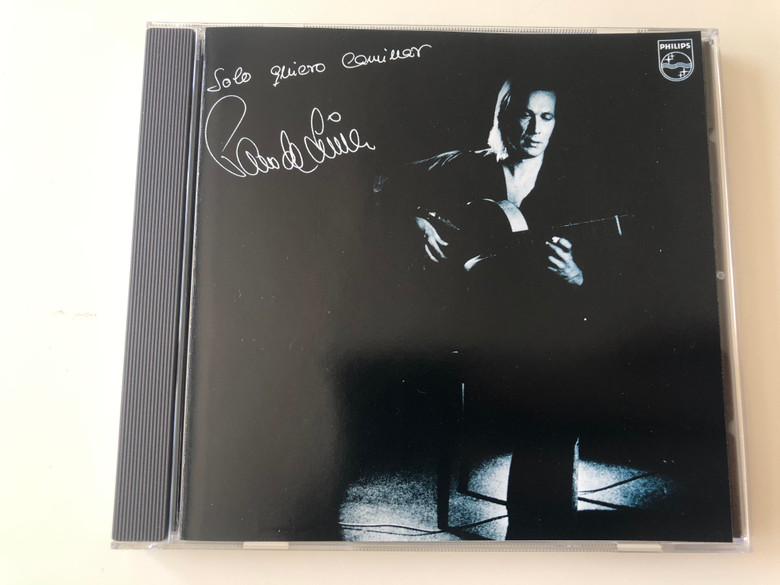 Solo Quiero Caminar - Paco De Lucia / Philips Audio CD 1981 / 810 009-2