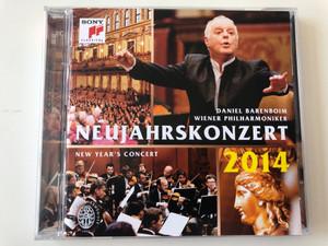 Daniel Barenboim, Wiener Philharmoniker – Neujahrskonzert - New Year's Concert 2014 / Sony Classical 2x Audio CD 2014 / 88883792262