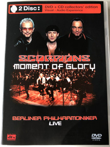 Scorpions - Moment of Glory DVD + CD Collectior's Edition / Berliner Philharmoniker LIVE / Conducted by Christian Kolonovits / Directed by Pit Weyrich / Interviews, Moment of Glory, Here in my heart (5034504903593)